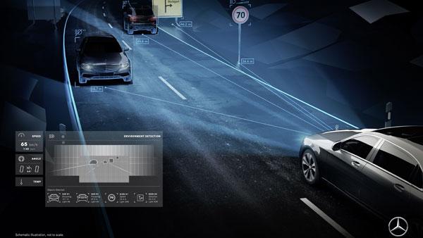 Teknologi Pintar Mercedes-Benz Kembangkan Mobil yang Bisa 'Berbicara'