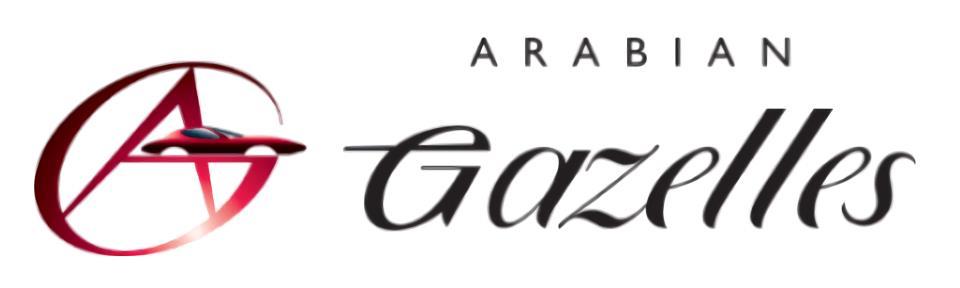 Logo komunitas supercar Arabian Gazelles