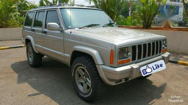 jeep cherokee country 4.0 4x4 at 1998 dijual