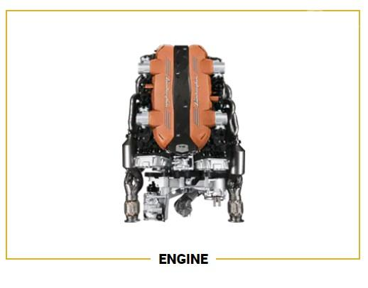 Mesin Lamborghini Aventador SVJ 2019 mampu memberi kecepatan yang luar biasa dan mengesankan