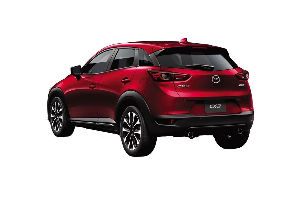 SIsi Belakang Mazda CX-3 2018 Dengan Desain Macho