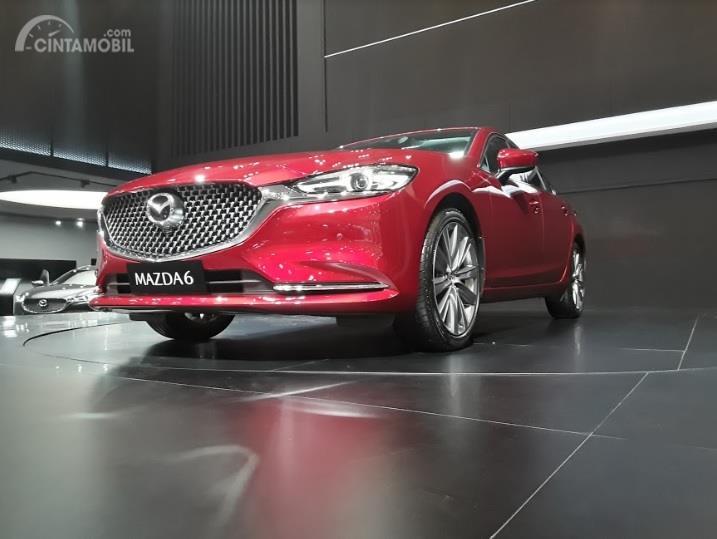 Mazda6 Sedan 2018 Dengan Grill Trapezodial