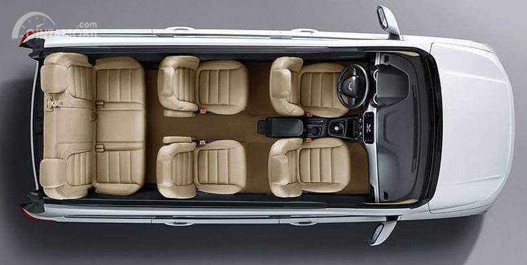 Gambar yang menunjukan bagian kursi dari mobil baru New Wuling Confero 2019