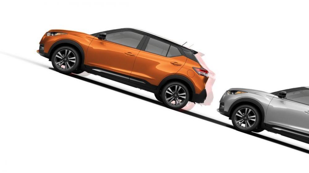 Performa Nissan Kicks didukung dengan teknologi SUV sekelas Hill Start Assit, Vehicle Dynamic Control dan Traction Control System