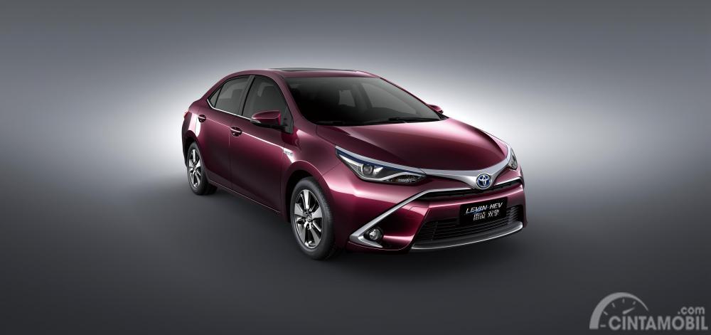foto produk Toyota Levin berwarna merah