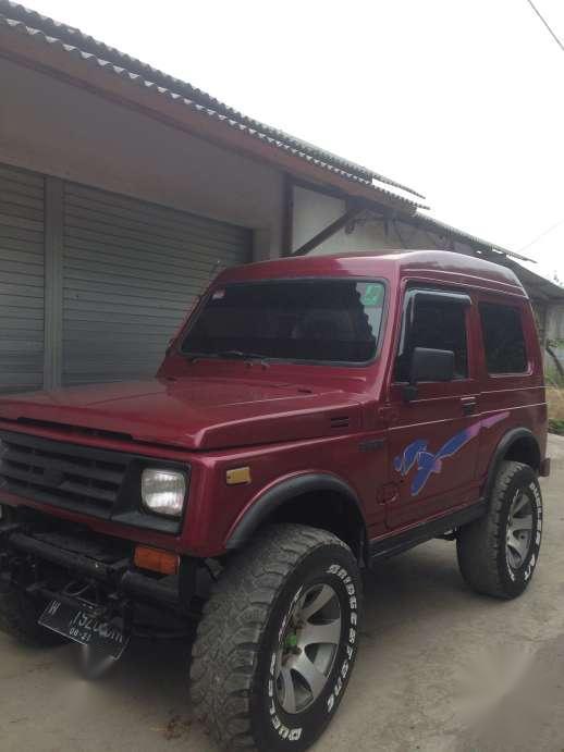830 Modifikasi Mobil Katana Warna Merah HD Terbaru