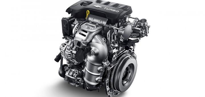 Gambar yang menunjukan mesin 1.3 L Ecotec dari Chevrolet