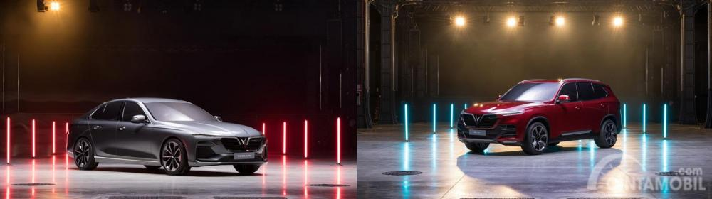 VinFast SUV dan VinFast Sedan siap diluncurkan di acara Paris Motor Show 2018