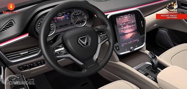 Interior VinFast sediakan berbagai hal menarik yang siap menghibur pengendara dan seluruh penumpang