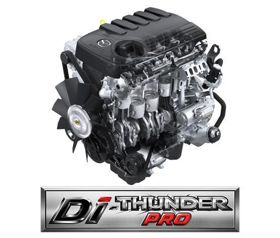 Mesin yang digunakan oleh Mazda BT-50 Pro Thunder 2019