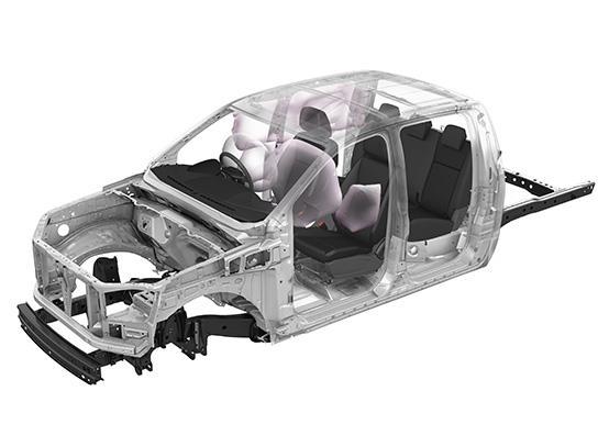 Peranti keselamatan Pasif Pada Mazda BT-50 Pro Thunder 2019