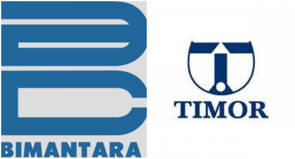 Gambar logo Bimantara dan Timor