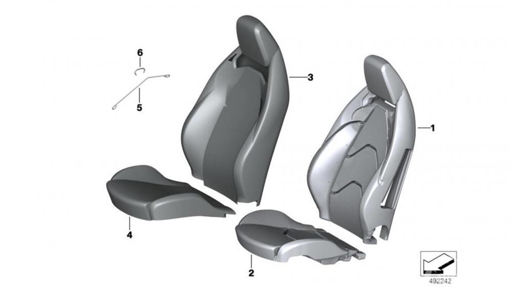 Gambar yang menunjukan desian kursi Toyota Supra