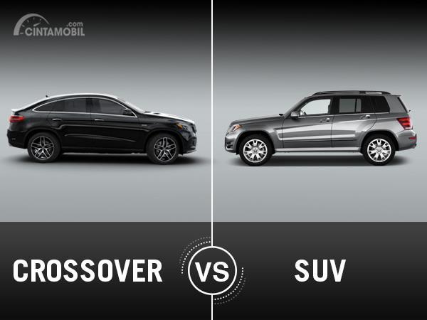 [INFOGRAFIK] Serupa Tapi Tak Sama, Ini Dia Perbedaan SUV dan Crossover
