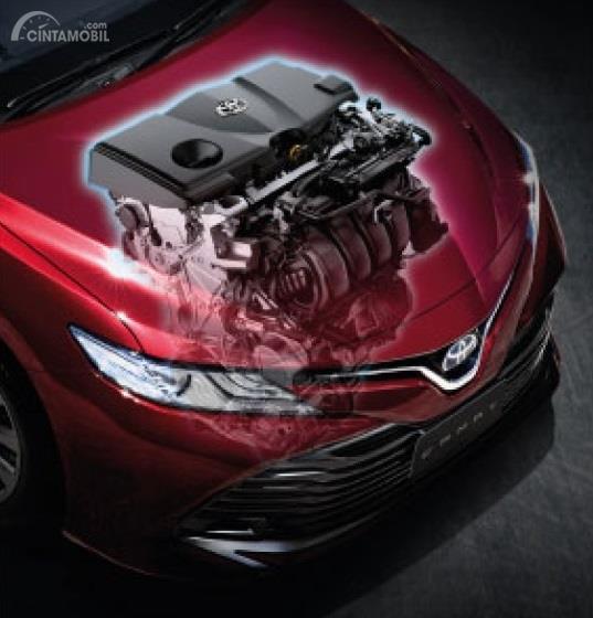 Operasi mesin Toyota Camry 2019 menawarkan tiga Output yang bisa Anda pilih baik dalam mode konvensional maupun Hybrid