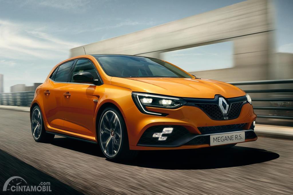 Renault Megane RS 2019 memiliki desain berkarakter dibanding pesaing lainnya