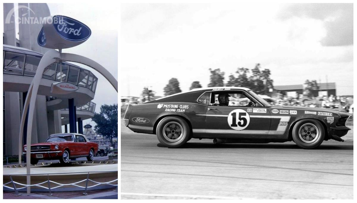 Ford mustang classic launch racing