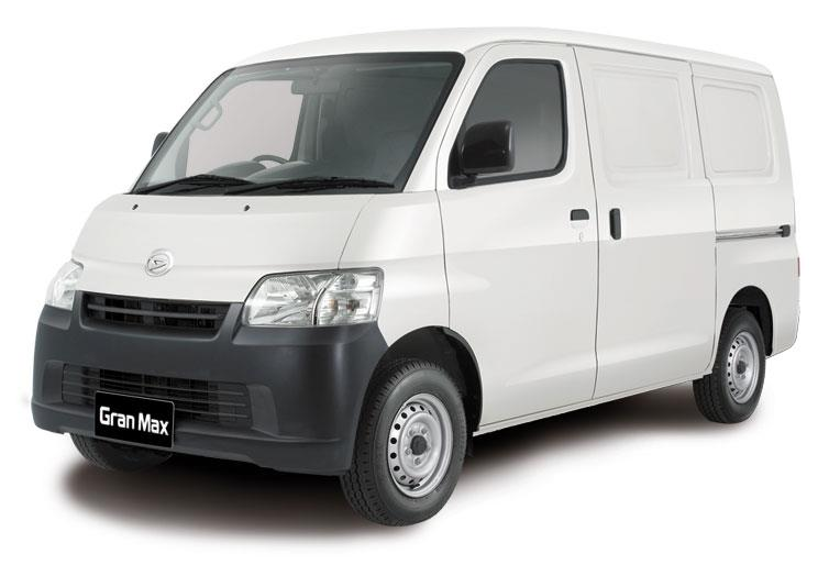 Tampak Sebuah Daihatsu GranMax Blind Van