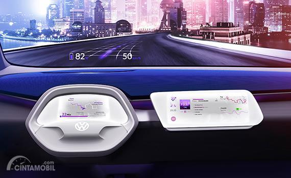 Fitur Augmented Reality menjadi salah satu fungsi masa depan pada sebuah mobil