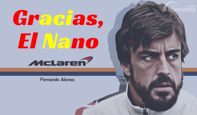 [Infografik] Fernando Alonso, Dari Gokart Hingga Jet Darat