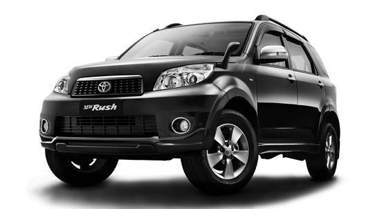 Generasi pertama Toyota Rush hanya mampu mengangkut 5 orang