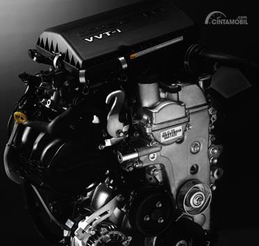 Operasi mesin Daihatsu Terios TX 2006 mampu memberikan daya maksimum sebesar 109 PS
