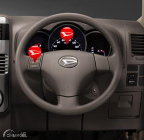 Setir Daihatsu Terios TX 2006 sudah menggunakan teknologi Electronic Power Steering