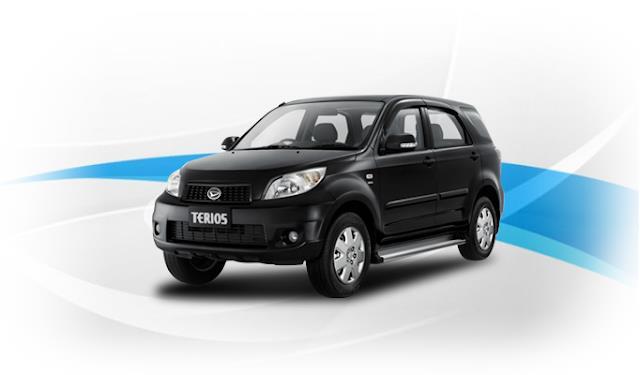 Daihatsu Terios TX 2006 sekilas terlihat maskulin tanpa unsur modern