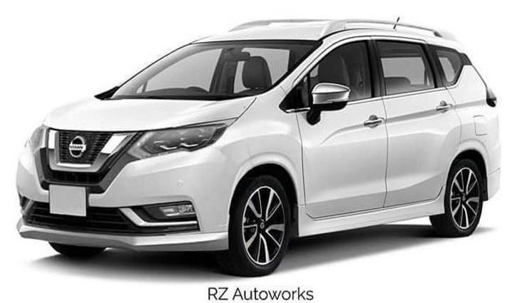 Gambar rendering Nissan Xpander