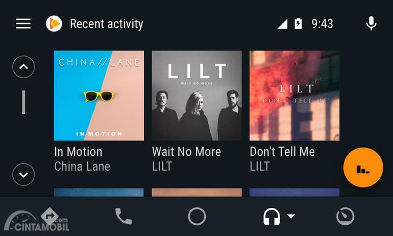 Update Android Auto Permudah Pencarian dan User Interface