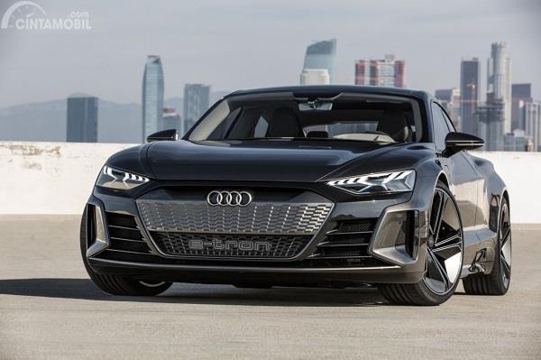 Gambar tampilan baru Audi e-tron GT 2019
