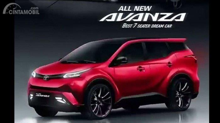 Meluncur Januari 2019, Harga Toyota Avanza Baru Masih Dipertahankan