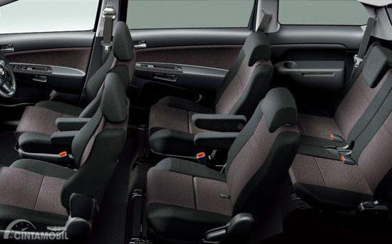 Fitur keselamatan Toyota Wish 2003 sudah dilengkapi dengan perlengkapan standar