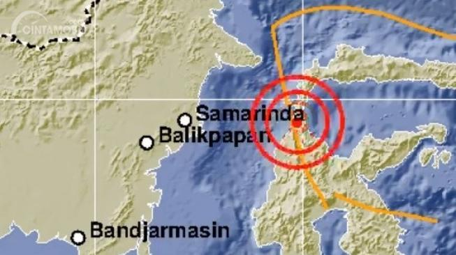 Gambar info gempa BMKG