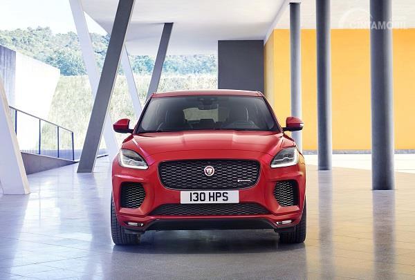 Gambar tampilan depan Jaguar E-Pace 2019