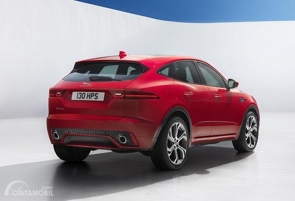 Gambar tampilan belakang Jaguar E-Pace 2019