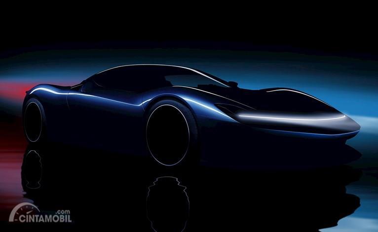 Gambar sketsa mobil Pininfarina