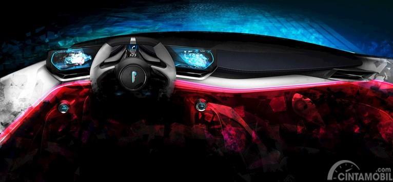 Gambar interior mobil Pininfarina