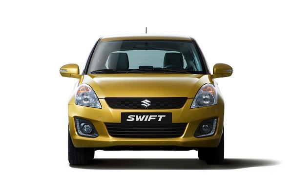 Gambar tampilan depan Suzuki Swift 2013