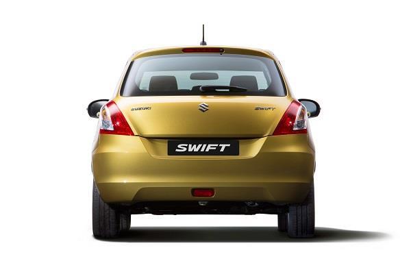 Gambar tampilan belakang Suzuki Swift 2013