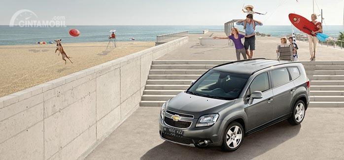 Chevrolet Orlando terlihat cukup maskulin namun mewah dengan gaya ala Amerika
