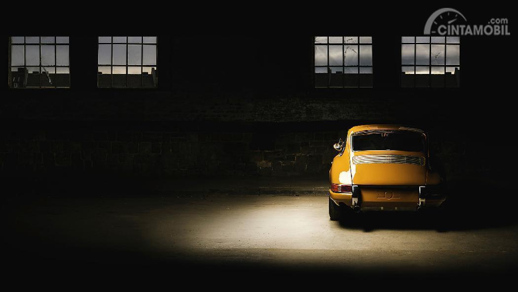 Gambar mobil klasik Porsche