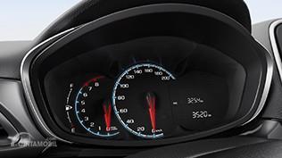Setir Chevrolet Spark 2017 sudah didukung dengan tombol pengaturan audio