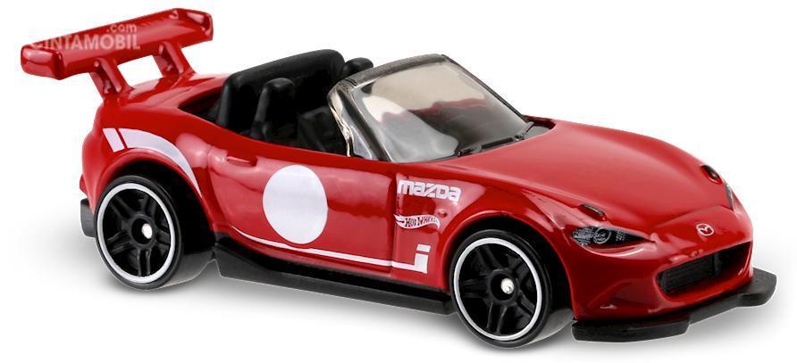 Mazda MX-5 Miata dalam versi die cast dari Hot Wheels