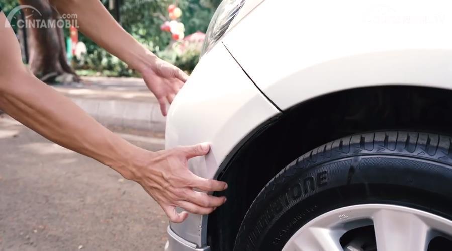 Gambar bumper depan Toyota Yaris