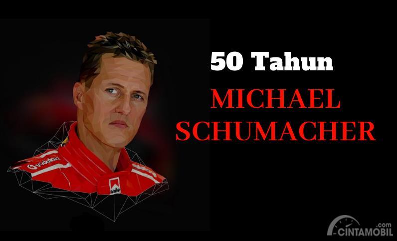 [INFOGRAFIK] Selamat Ulang Tahun, Michael Schumacher, Sang Legenda Hidup Formula 1