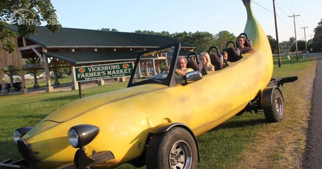 Mobil pisang berangkat dari bodi awal Ford F-150