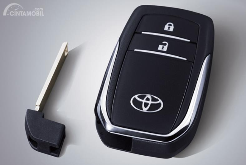 Tampak Fitur Smart Entry di Toyota Avanza Veloz 2019