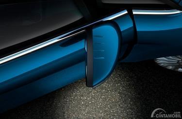 Kaca Spion Ford Fiesta EcoBoost 2014 hadirkan lampu Puddle dan lampu sein