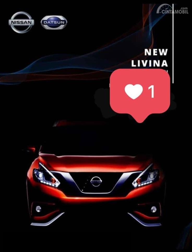 Gambar teaser Nissan Grand Livina 2019